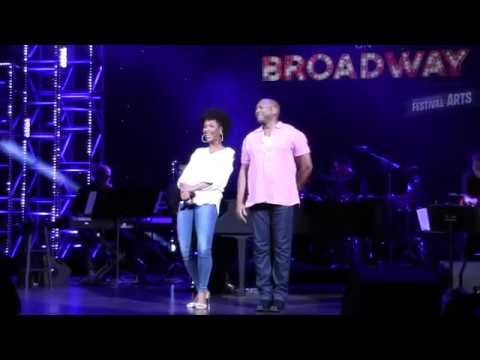 Epcot Festival of the Arts - Disney on Broadway - starring K