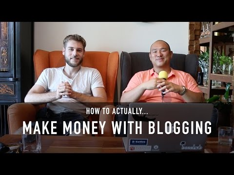 HOW TO ACTUALLY MAKE MONEY BLOGGING (MASTERCLASS WITH JOHNNY FD)