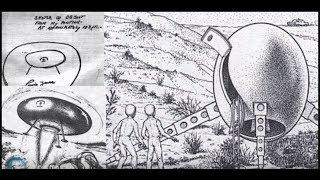 Cover images EXTRATERRESTRES - NÁUFRAGOS ESTELARES (Argentina 1965)