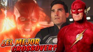 Elseworlds Review - ¡GENIAL! Risas, Referencias y Épicas Escenas!! | The Flash Arrow Crossover
