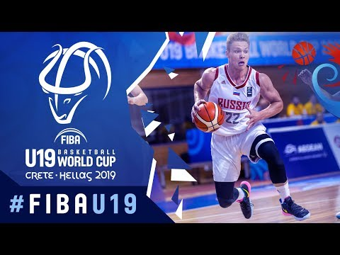 Russia V China - Highlights - FIBA U19 Basketball World Cup 2019