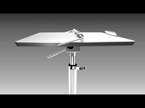 X-Tend Portable Ergo Tilt Table