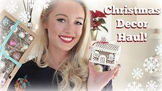 Christmas Decorations Haul!  Baubles, Gifts & More!   |  Fashion Mumblr