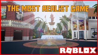 The *MOST REALISTIC* Game On Roblox - Universal Studios Roblox