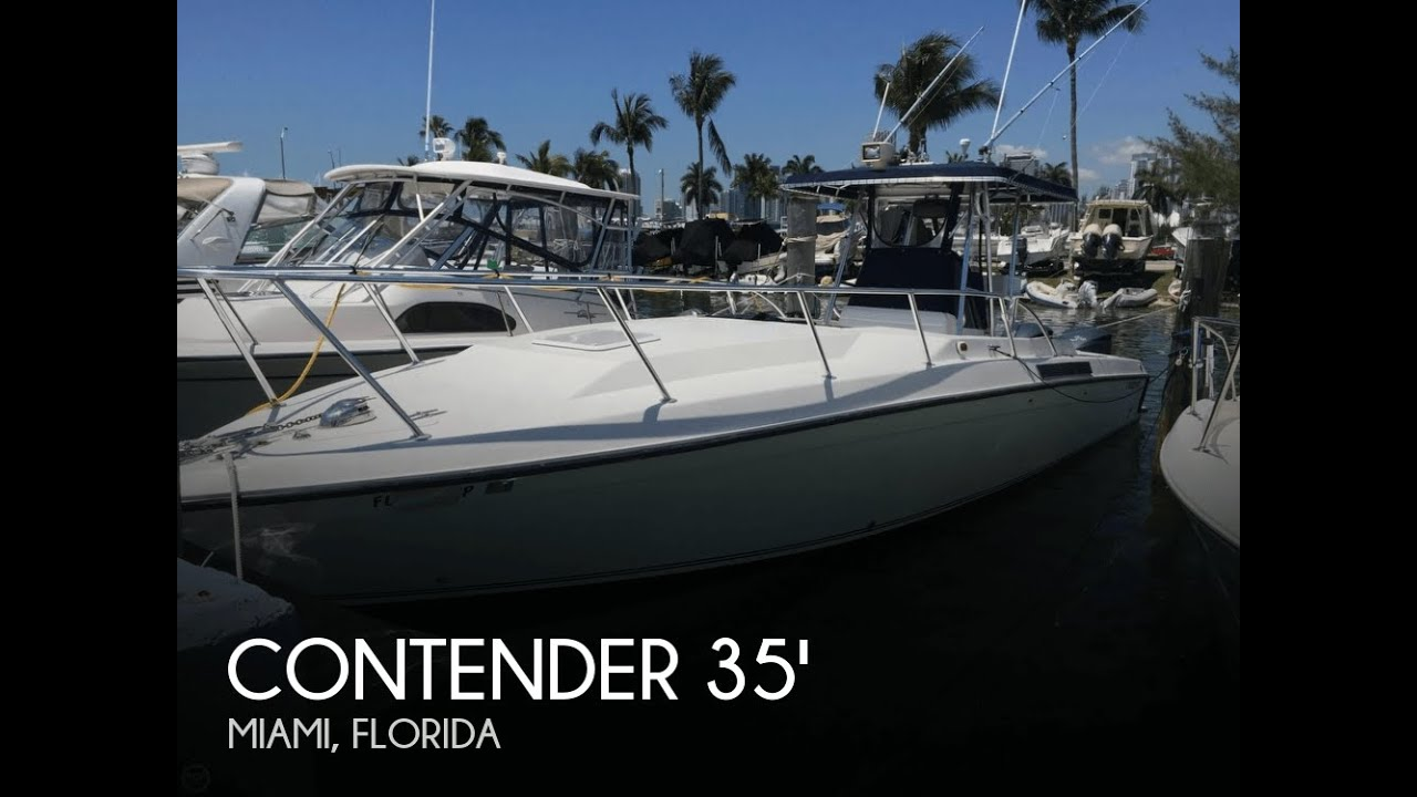 Unavailable Used 1995 Contender 35 Center Console Cabin