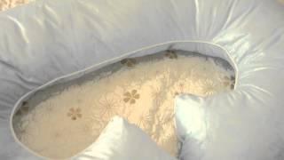Подушка для беременных G-medium 340см(Подушка для беременных во все тело в форме рогалика. Выберите наполнитель, подберите наволочку и радуйтесь..., 2014-10-09T09:05:07.000Z)