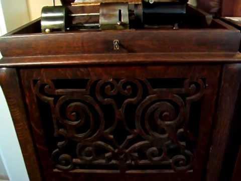 Estellita Waltz Mandolin Solo  -  Played by Samuel Siegel  -  1908 Indestructible Cylinder Record