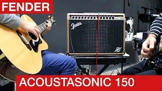 Fender Acoustasonic 2-channel acoustic amp