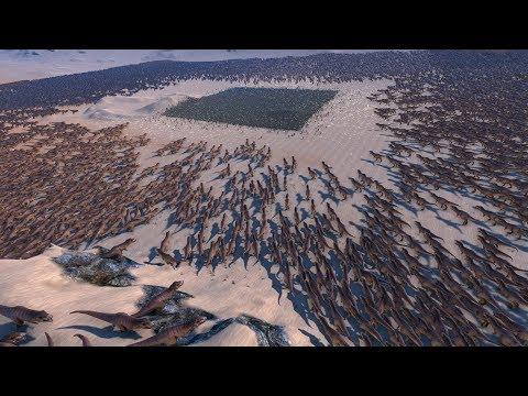 25.000 GERMAN SOLDIERS vs 20.000 T-REX - Ultimate Epic Battle Simulator