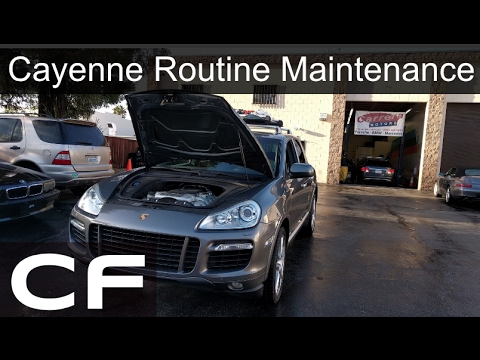How's maintenance on a Porsche Cayenne? - Routine Maintenance Schedule for  955, 957, and 958