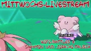 Mittwochs-Livestream - WiFi-Battles und Tausch - Pokémon Omega Rubin und Alpha Saphir (ΩR/αS)