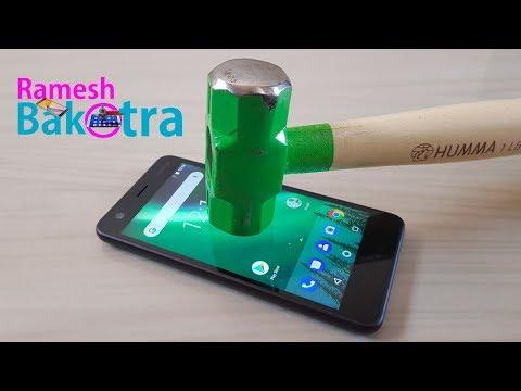 Nokia 2 Screen Scratch Proof Glass Test