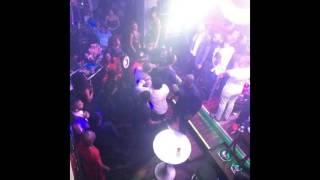 Dammy krane fights Wizkid on stage (September 2016)