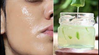 In 5 Days Get GLASS Skin - Aloevera Flaxseed Gel Skin Glowing Face Serum - Remove WRINKLES