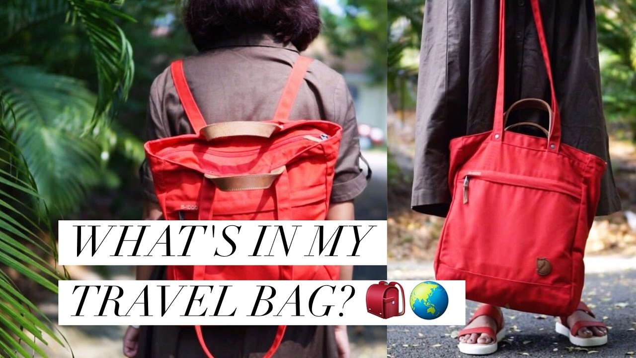 buying cheap for whole family incredible prices What's in my Travel Bag 🎒 | Fjallraven Totepack no 1 // Magali Vaz
