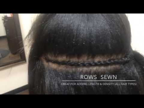 See My 4Rows Sewn | Hair Fillers | Adding Length| Los Angeles