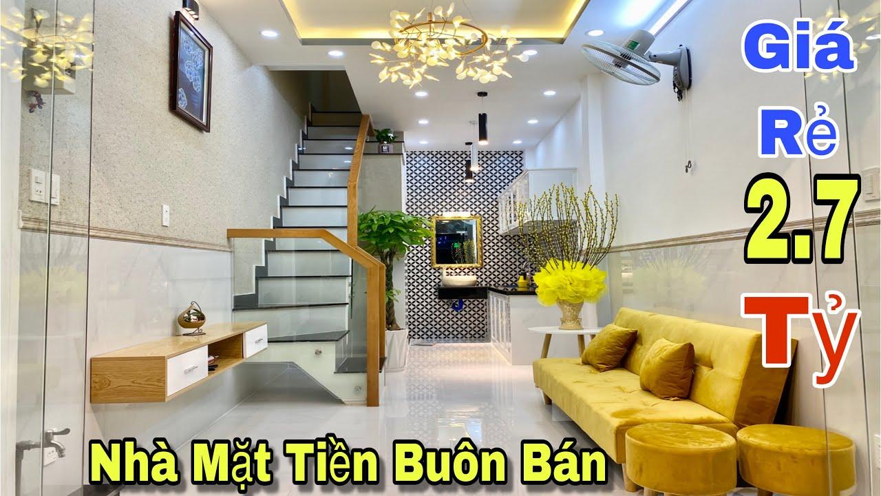Bán nhà Gò Vấp | Nhà mặt tiền buôn bán giá 2,7 tỷ tại đường Quang Trung , phường 8