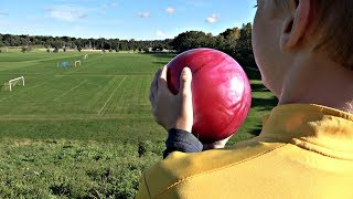 Bowling from HUGE Hill | That's Amazing