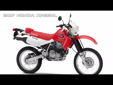 2017 Honda XR650L : Dual Purpose Bike - BEST Dual Sport Motorcycles