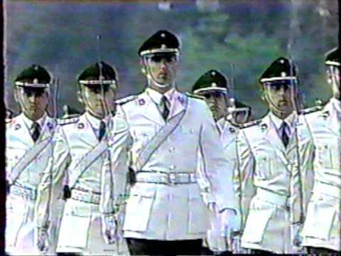 Parada Militar 1989 Chile:Escuela de Carabineros/Parademarsch der Langen Kerls