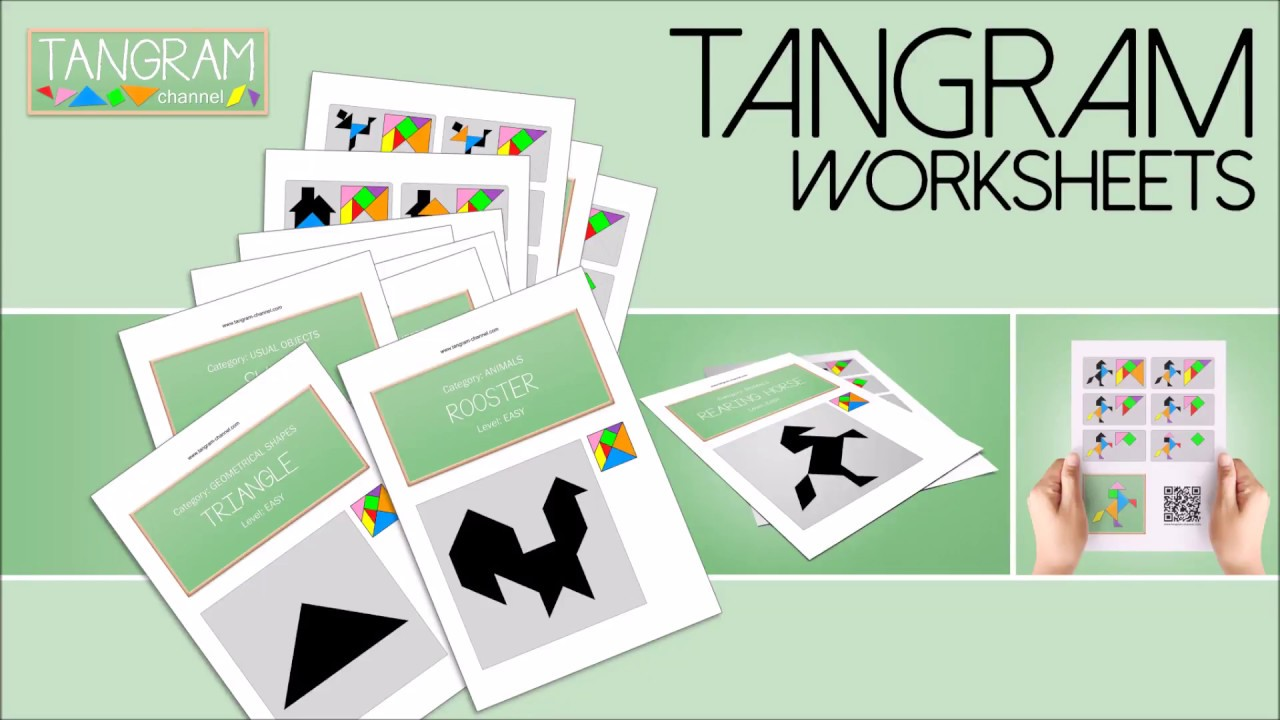 Worksheets Tangram Worksheets tangram worksheets youtube worksheets