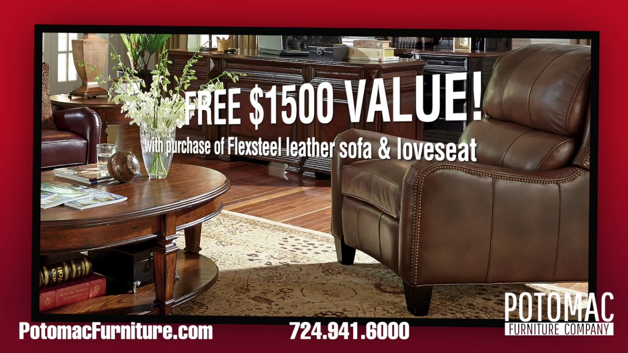 Charming Potomac Furniture Company (Free Leather Chair)