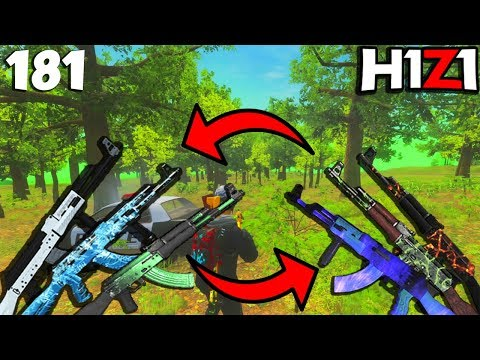 AK's EVERYWHERE & TOO STRONG! NERF SOON?! H1Z1 - Best Oddshots & Funny Moments #181