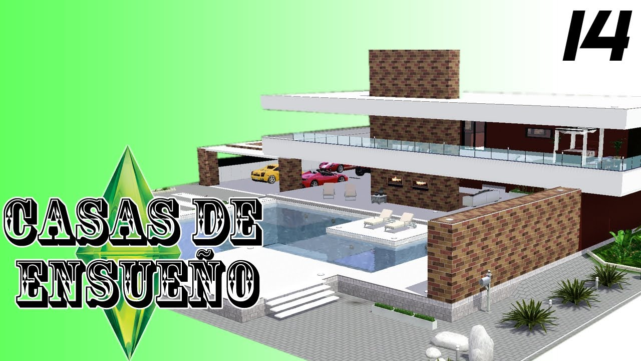 Casas de ensue o casa 14 serie sims 3 descarga youtube for Casa moderna los sims 3