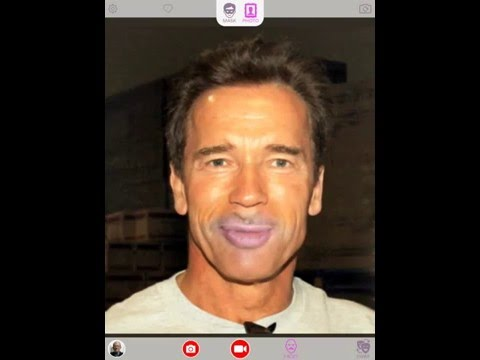 Face Swapping with Arnold - Face Swap Live App