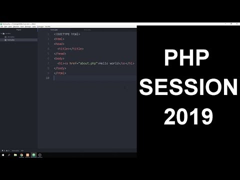 PHP Session Login And Logout