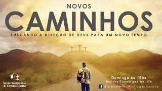 Culto online - 24/01/2021 - Novos Caminhos #4 - Salmo 123