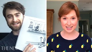 Daniel Radcliffe and Ellie Kemper Enter The New Yorker's Cartoon Caption Contest | The New Yorker