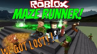 Roblox - Maze Runners // Funny Moments