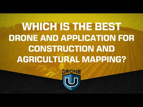 How To Select The Best Drone And Implement Optimum Mapping Workflow In Construction