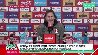 Selección Peruana: primera convocatoria de Ricardo Gareca para las Clasificatorias Qatar 2022