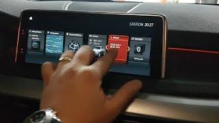 BMW F15 NBT EVO ID6 Dokunmatik Ekran