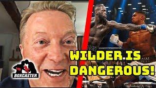 Frank Warren on Anthony Joshua vs. Deontay Wilder, Tyson Fury