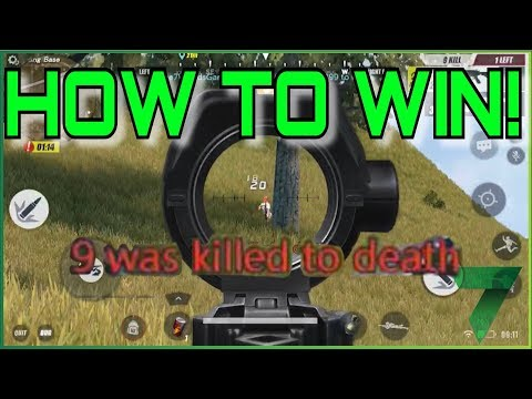 Rules of Survival HOW TO WIN? Tutorial Tips!