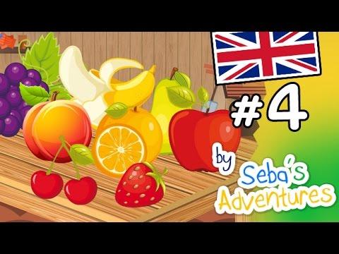 Fruits names for children - Italian lesson - Lesson 4