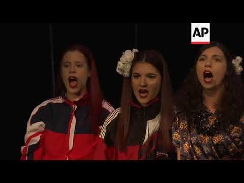 Kosovo premieres musical about former Yugoslav leader Milosevic