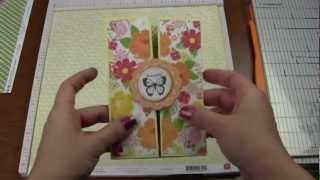 How To Make A Double Accordion Gatefold Card