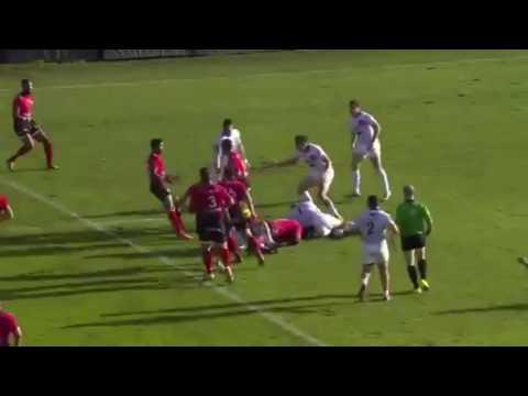 Quade Cooper Toulon Debut
