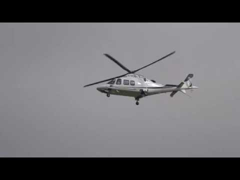 AgustaWestland AW109 Landing!