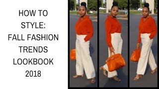 How to Style: Fall fashion trends 2018 Lookbook | Roxie Stars