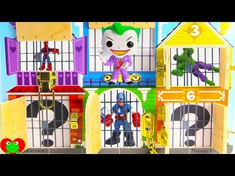 SUPERHERO Joker Pranks Hulk Saves Superheroes