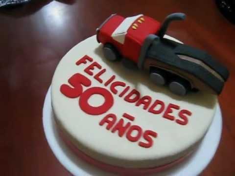 pastel de camion