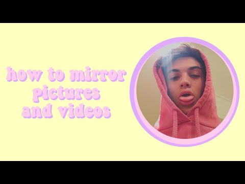 how to mirror pictures and videos | cute cut (pro)