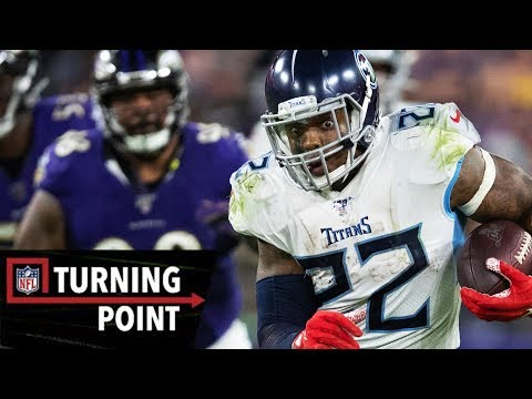 How Derrick Henry Pulled a Tebow to Beat the #1 Ravens | NFL Turning Point