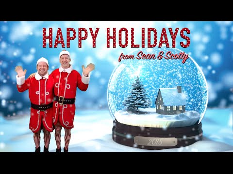 JINGLE BELLS (Lip-Sync Video) by Sean Hayes & Scott Icenogle