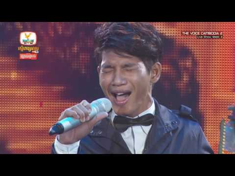 The Voice Cambodia -  សោម សៅសុវណ្ណា -  When A Man Loves A Woman​ - Live Show 29 May 2016